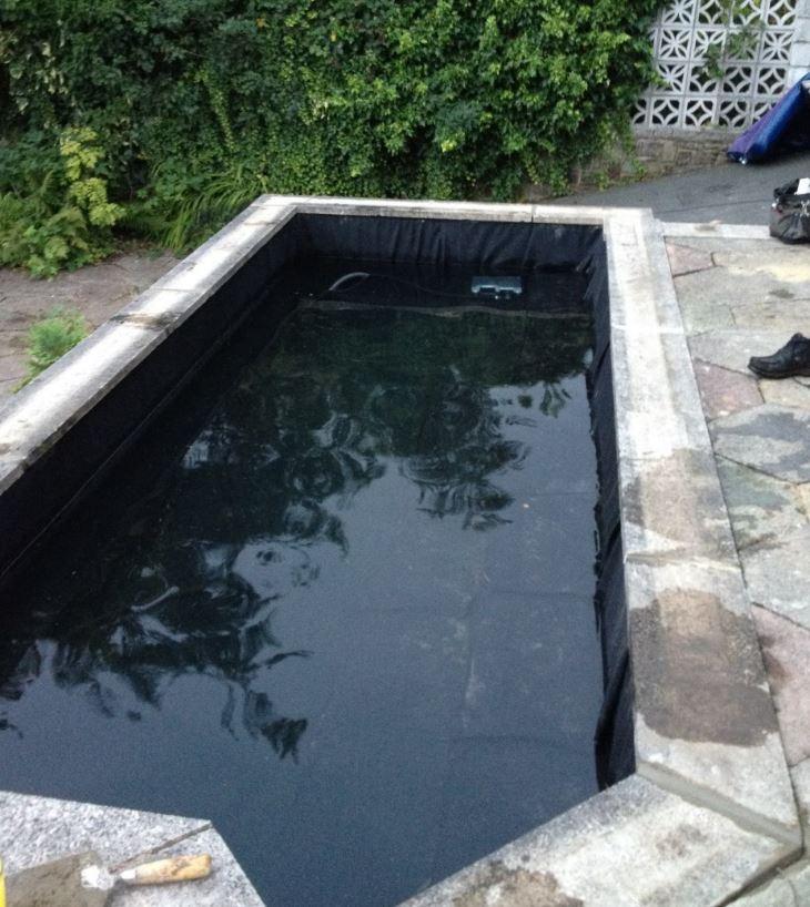 Pond Reline Bramhall Cheshire Ponds